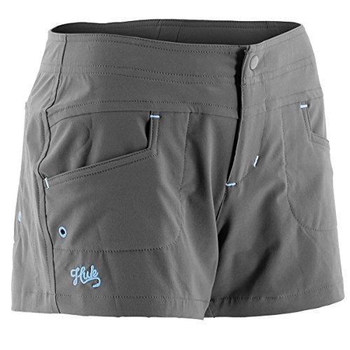 Button Fly Boyshort (HUK H2000014CGYL Huk Ladies Paupa Boy Short, Charcoal, Large)