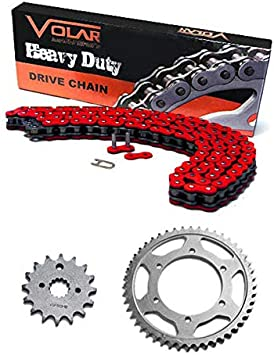 1985-1988 Suzuki Quadsport 230 LT230S Heavy Duty Chain Black