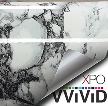 White Black Veined Marble Gloss Vinyl Architectural Wrap for Home Office  Furniture Wallpaper Tile Sheet 6 5. White Black Veined Marble Gloss Vinyl Architectural Wrap for Home