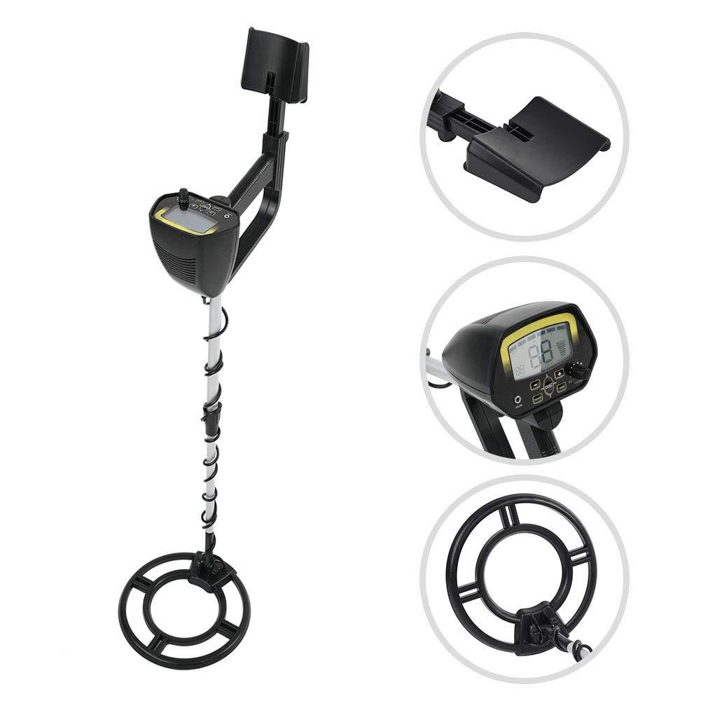 MD4060 Gold Digger Pinpointer, Sensibilidad Ajustable Detector de Metales subterráneos Escáner a Prueba de Agua Treasure Hunters Buscador de Monedas de ...