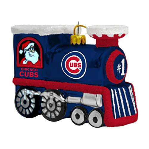 (MLB Chicago Cubs Train Ornament)