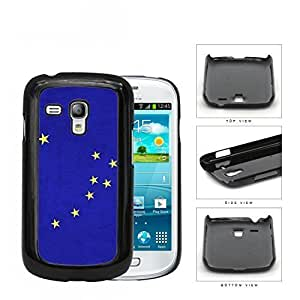 Blue Alaska State Flag with Yellow Stars Hard Snap on Cell Phone Case Samsung Galaxy S3 MINI I8190