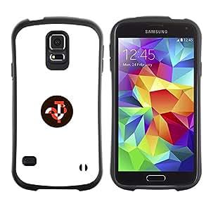Suave TPU GEL Carcasa Funda Silicona Blando Estuche Caso de protección (para) Samsung Galaxy S5 / CECELL Phone case / / what inside /
