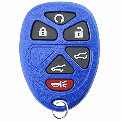 KeylessOption Keyless Entry Remote Control Car Key Fob Replacement for 15913427 -Blue: Automotive