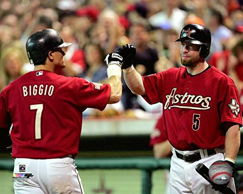 Craig Biggio Jeff Bagwell Houston Astros Action Photo (Size: 8