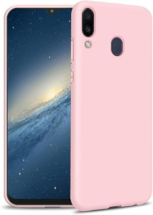 Funda Samsung M20, Rosa Silicona Funda para Samsung M20 Flexible, Carcasa Protectora para Samsung M20 Ultra Fina, Case para Samsung M20 Gel TPU Rosa: Amazon.es: Electrónica