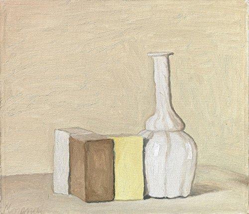 Giorgio Morandi Giclee Canvas Print Paintings Poster Reproduction(Still Life - Line Catalogue Studio