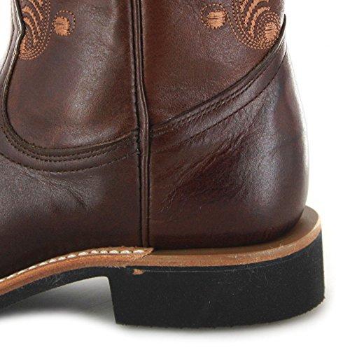 Boulet 5212 Stivali Da Equitazione Donna Marrone Tan (larghezza C)
