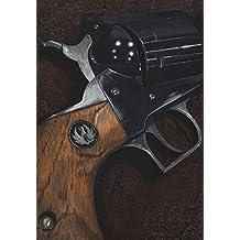Original Ruger 44 Magnum Super Blackhawk Revolver Acrylic painting on canvas by Jason Girard