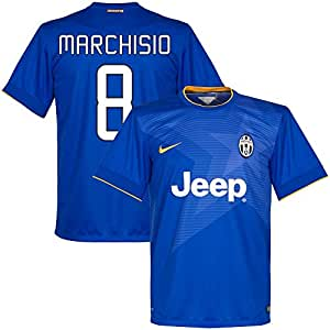 Juventus Away Marchisio Jersey 2014 / 2015 (Fan Style Printing) - XL