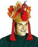 Plush Deluxe Turkey Gobbler Hat