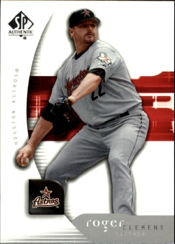2005 Sp Authentic Baseball Card - 2005 SP Authentic Baseball Card #83 Roger Clemens