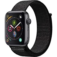 Deals on Apple Watch Series 4 GPS 40mm Space Gray w/Black Band
