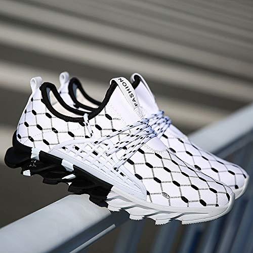 Running koiu Give Hombre Para De Zapatillas Blanco 0qOOxg6Bw