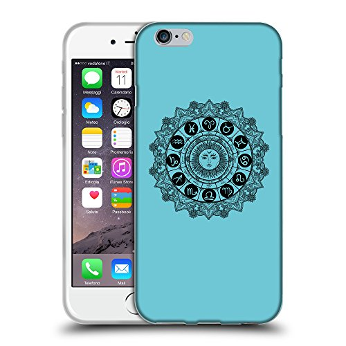 GoGoMobile Coque de Protection TPU Silicone Case pour // Q08610627 Zodiac 1 Cyan // Apple iPhone 6 PLUS 5.5""