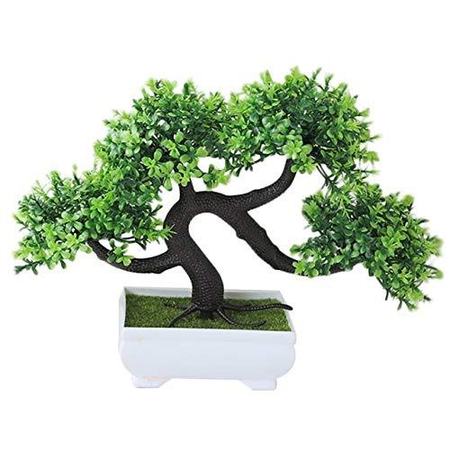 HONIC 1 Planta Artificial de Pino bonsái para decoración de ...