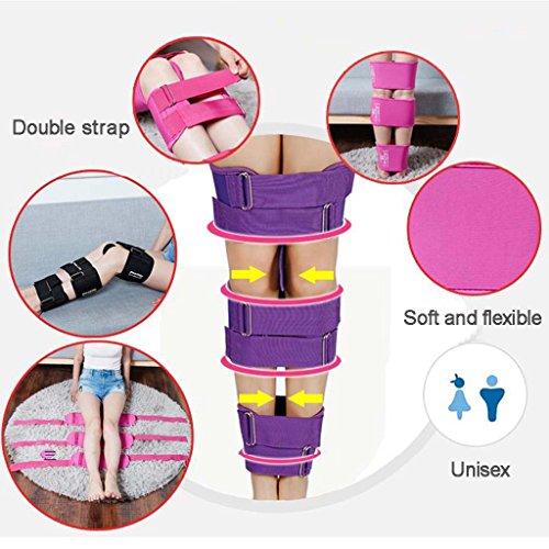 Mesurn Adult Child Leg Correction O/X Leg Correction Belt Band Leg Correction Tape Straightening Thin Leg Multiple Colour Correction Band (Color : Pink, Size : M) by Leg Corrector Bandage (Image #1)