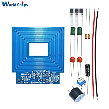 Diy Simple Metal Detector Metal Locator Kit DC 3V-5V Electronic Metal Sensor Module Induction