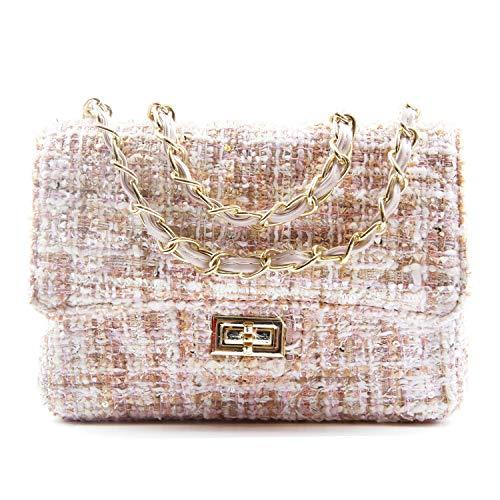 - SUKUTU Women's Tweend Handbag Chain Purse Crossbody Shoulder bag for girls