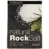 Tidmans Natural Rock Salt, 500g