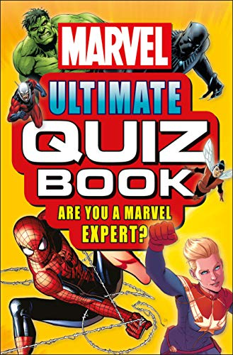 (Marvel Ultimate Quiz Book: Are You a Marvel Expert?)