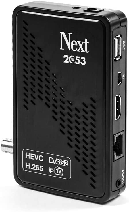 Next 2053 - Receptor Full HD decodificador de televisión por ...