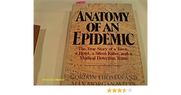 Anatomy Of An Epidemic Max Morgan Witts Gordon Thomas