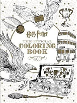 Book Scholastic: Harry Potter - The Official Coloring Book (Paperback); 2015 Edition