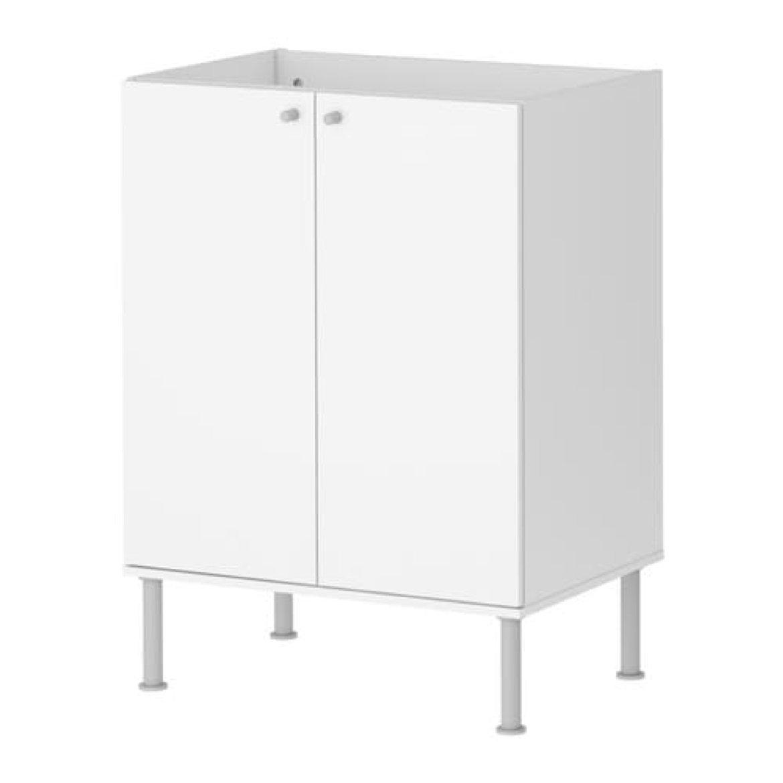IKEA Fullen Sink Cabinet White 701.890.41 Size 23 5/8x31 1/8'' by IKEA