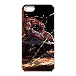maho shojo madoka magica iPhone 5 5s Cell Phone Case White xlb2-414144
