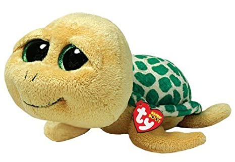 Image Unavailable. Image not available for. Color  Ty Beanie Boos Pokey - Yellow  Turtle Small Plush ... 563a2f76b319