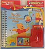 Story Reader Disneys Poohs Funny Hunny Songs 2 Songbooks and Microphone Set