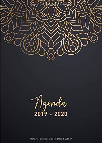Agenda 2019/2020: 17 mois journalier 2019-20 - format A5 ...