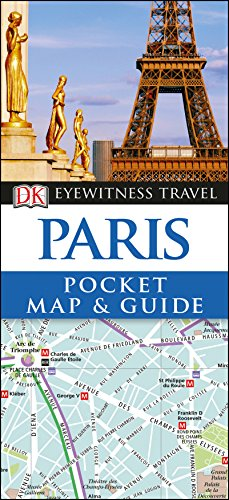 Paris Pocket Map and Guide (DK Eyewitness Travel Guide) (Trip Paris)