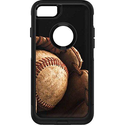Sports OtterBox Commuter iPhone 7 Skin - The Baseball Mitt Vinyl Decal Skin For Your OtterBox Commuter iPhone 7 (Vinyl Mitt)