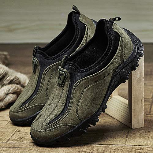 Scarpe Da Sportive Outdoor Mountaineering Oyedens Men's Corsa Classic Stringate Uomo Hiking Sneakers Espadrillas Shoes Ginnastica Verde q5d1TnSx1