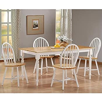 Amazoncom ANTIQUE SOLID OAK DINING ROOM TABLE