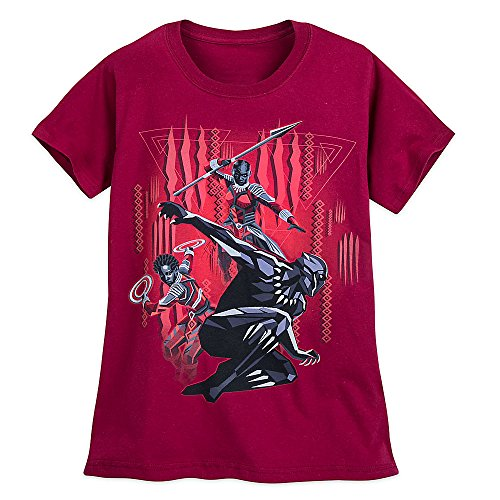 Womens Panther - Marvel Black Panther T-Shirt For Women Size Ladies M Red