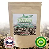 Product review for Thida Gynostemma Tea Jiaogulan Pentaphyllum Fair-Trade Longevity Antiaging Antioxidant Caffeine-Free Tea 100% Natural Ingredients Direct from North Thailand