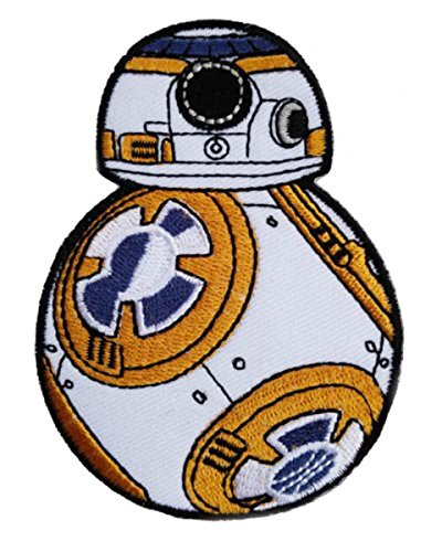 [Star Wars VII BB-8 Droid Embroidered Iron/Sew-on 2.5