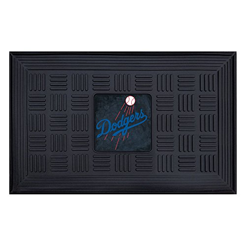 Fanmats 11303 MLB Los Angeles Dodgers Vinyl Medallion Door Mat