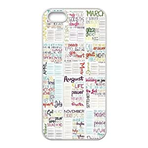Bible Verse DIY Cell Phone Case For Sam Sung Galaxy S5 Cover LMc-18371 at LaiMc
