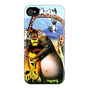New Dana Lindsey Mendez Super Strong 2012 Madagascar 3 Tpu Case Cover For Iphone 4/4s