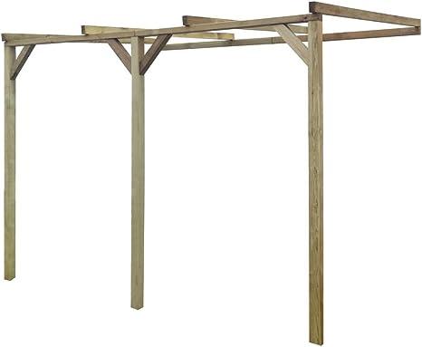 FZYHFA Estructura Enrejado de Madera 2 x 3 x 2, 2 m Carpa de jardín Carpa Carpa Carpa terraza: Amazon.es: Jardín