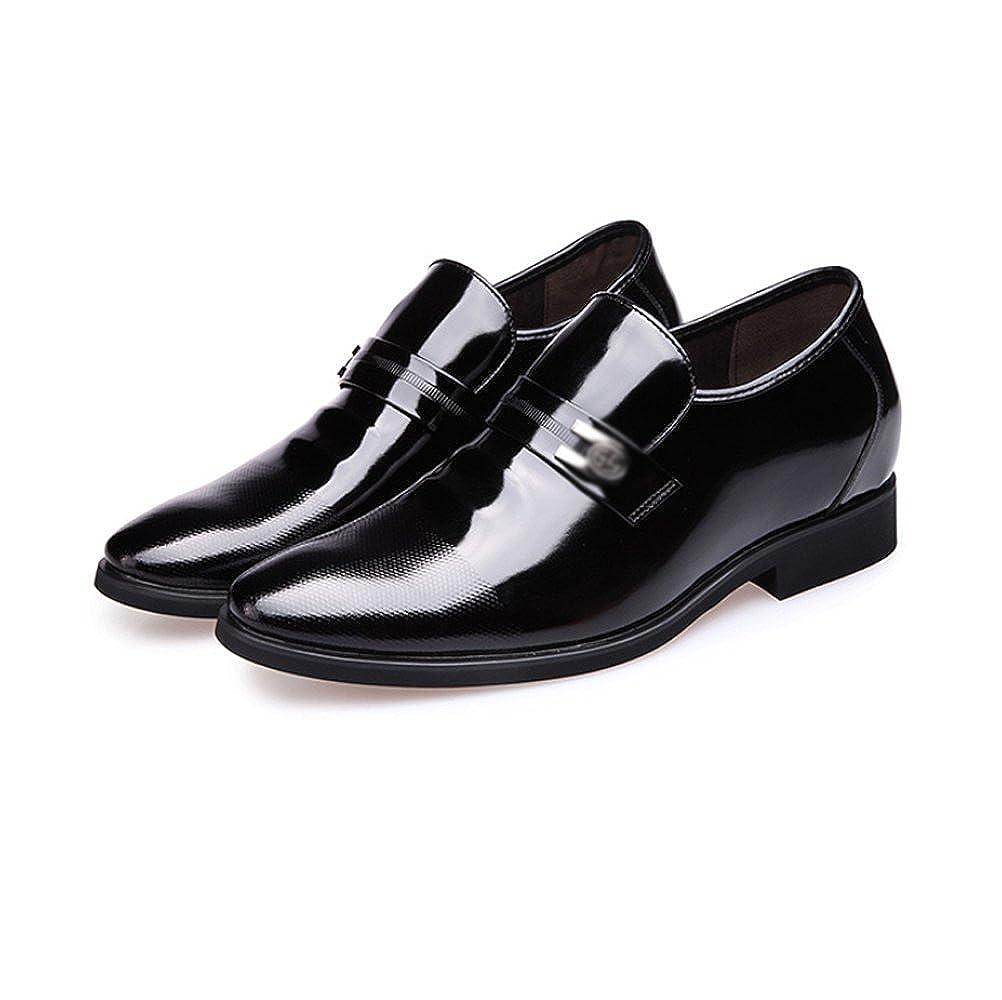 LYZGF Männer Jugend Hochzeit Business Casual Fashion Höhe Gentleman Hochzeit Jugend Lederschuhe 405471