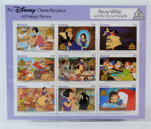Disney Classic Fairytales in Postage Stamps