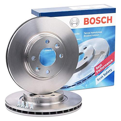 2 Stck Bosch Bremsscheiben