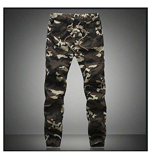 Miki Da Camouflage Military Jogger Pants Men NEW Pure Cotton Mens Spring Autumn Pencil Harem Pant Men Comfortable Trousers Camo Joggers Green 4XL