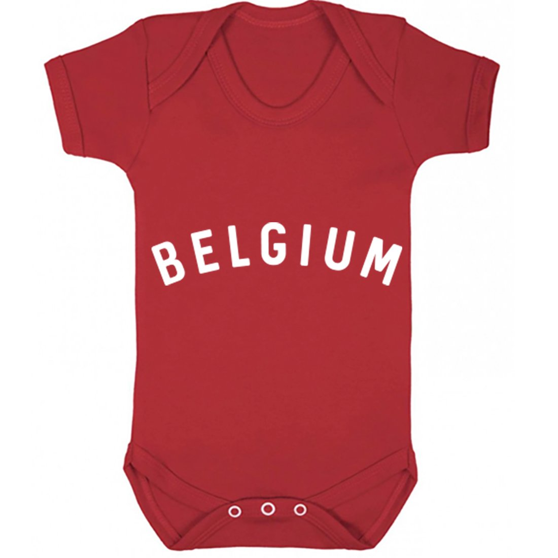 Illustrated Identity Belgium Vest Boys Girls