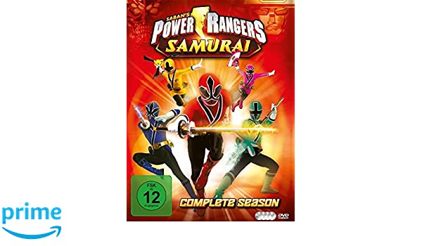 Power Rangers Samurai - Complete Season Alemania DVD: Amazon ...